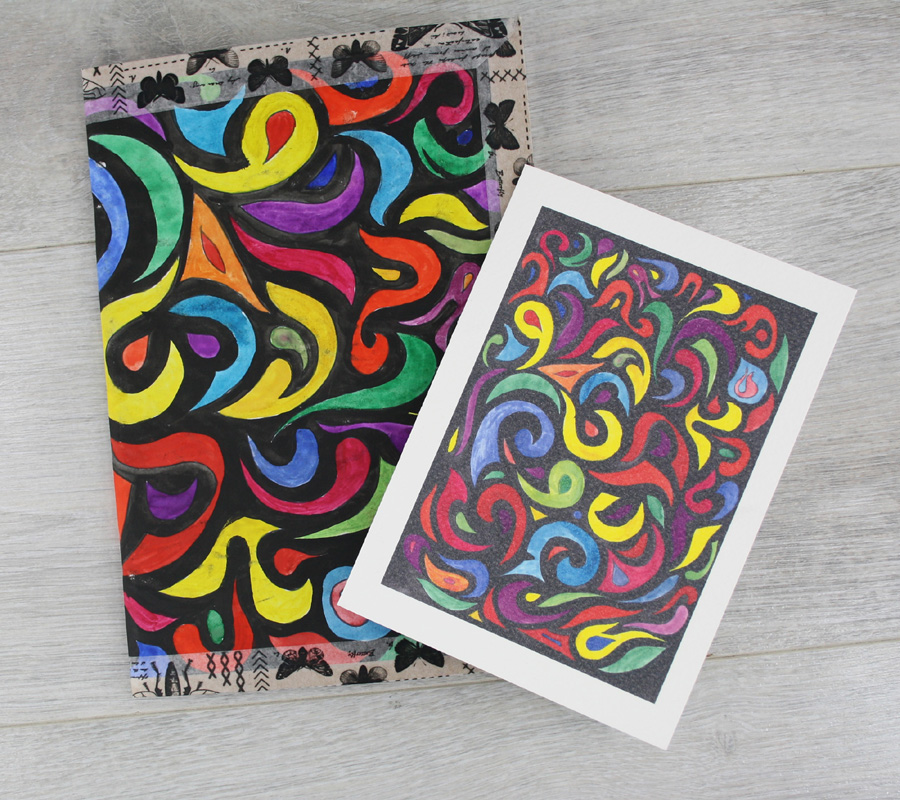 watercolour notebooks and cards