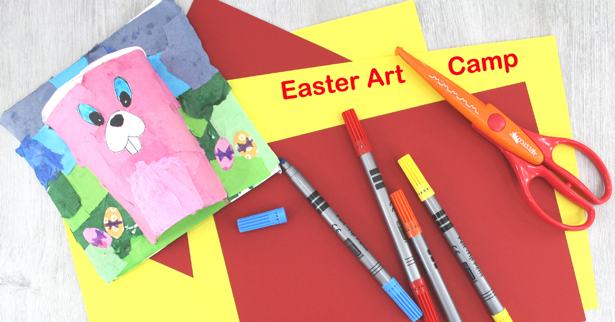 easter art camp in Sallins with the craft corner