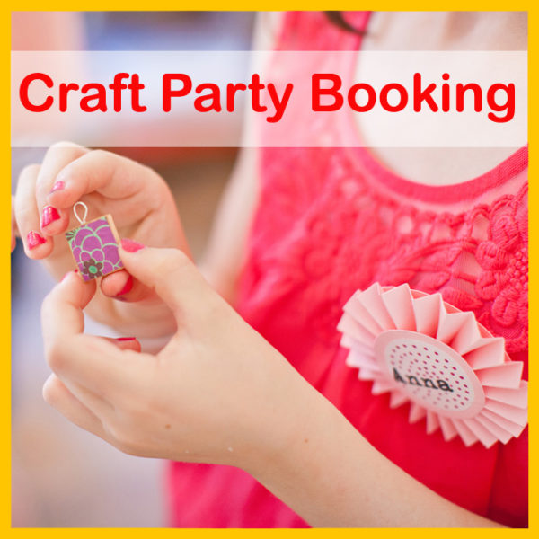 craft party booking for childrens birthday party entertainment