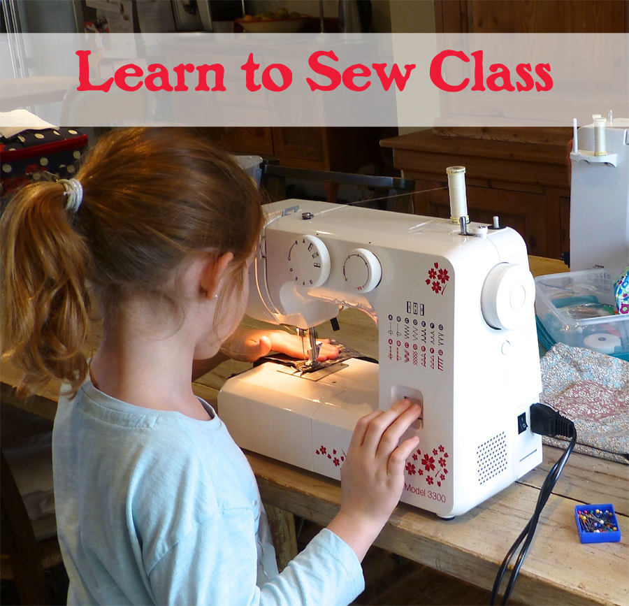 learn to sew for children after school classes
