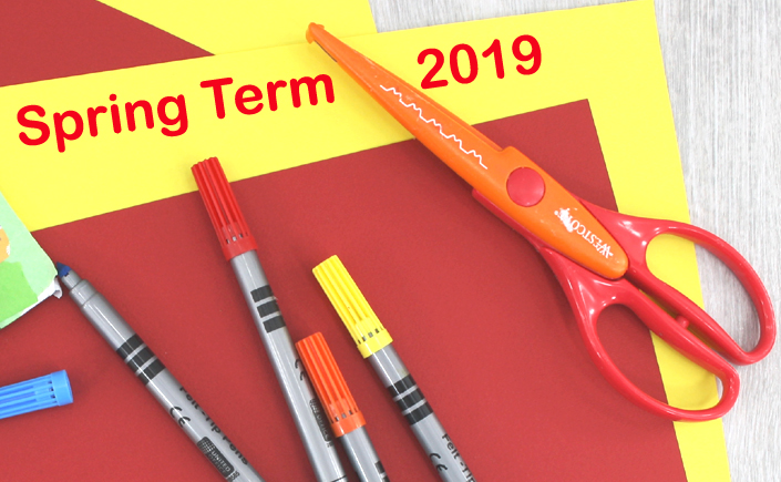 spring term of arts and crafts 2019