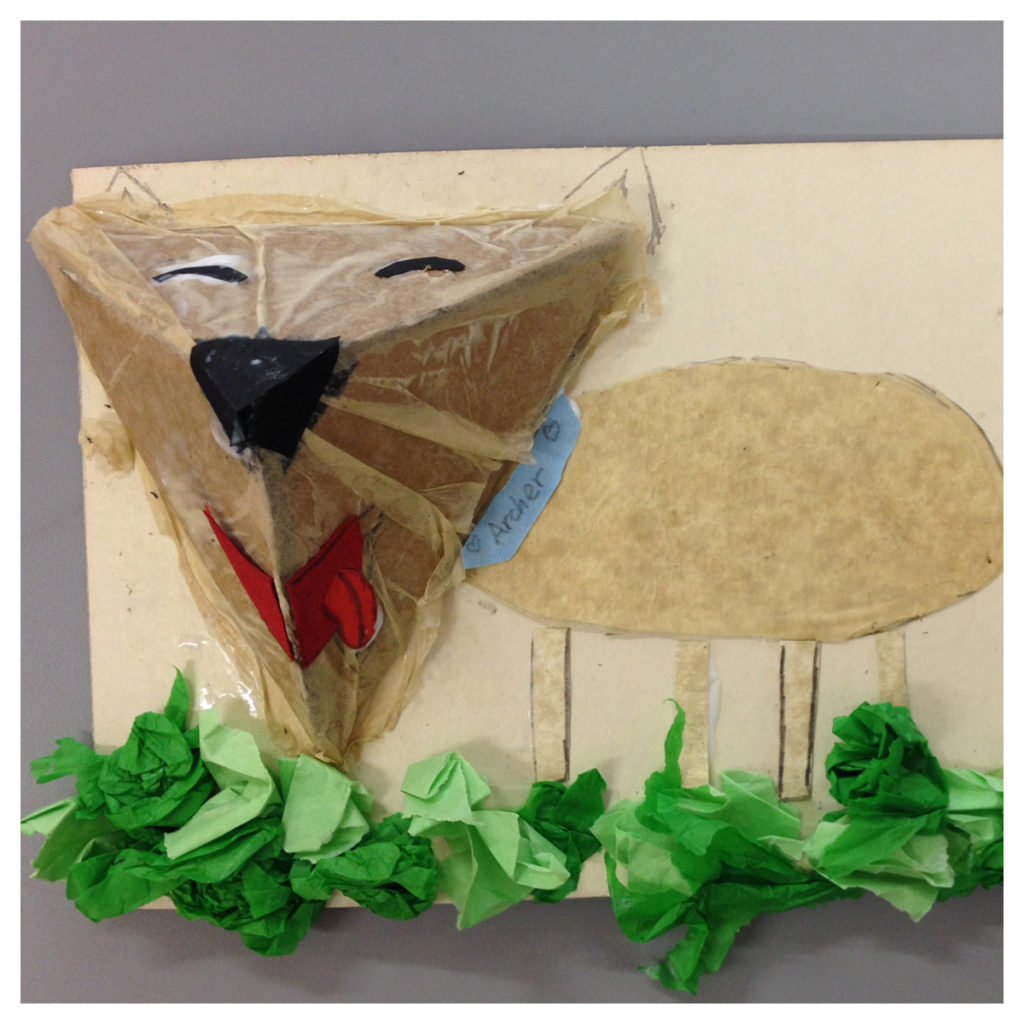 Making 3D dog portraits at summer camp