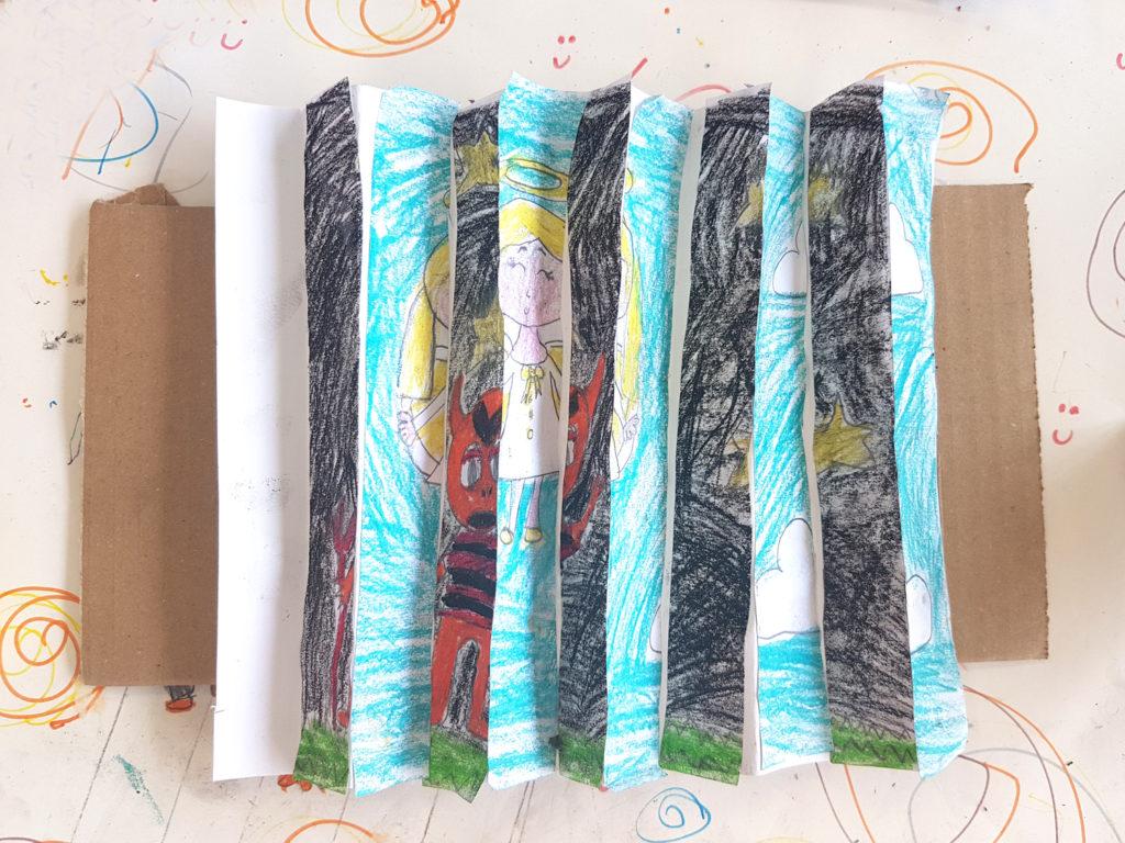 concertina artwork opposite arts