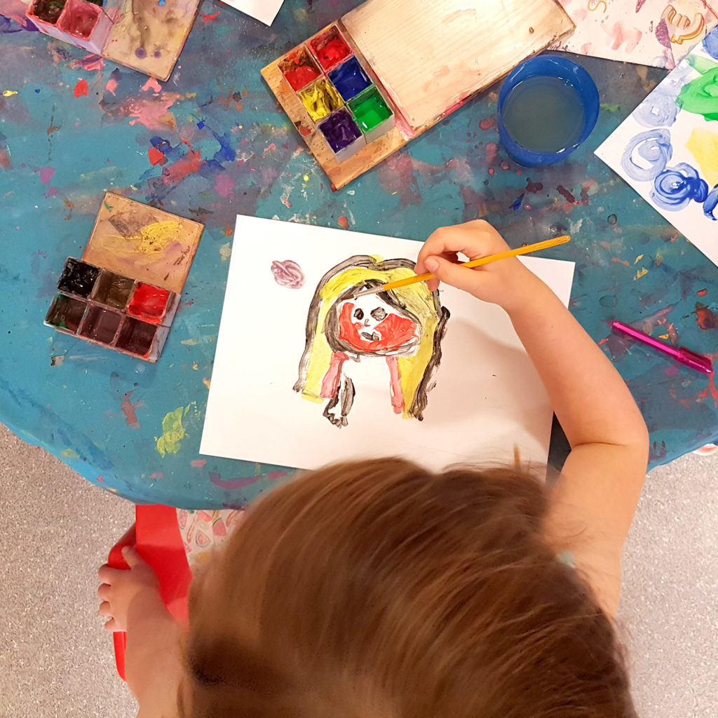 Children who spend time doing some form of creative activity show reduced signs of stress and anxiety