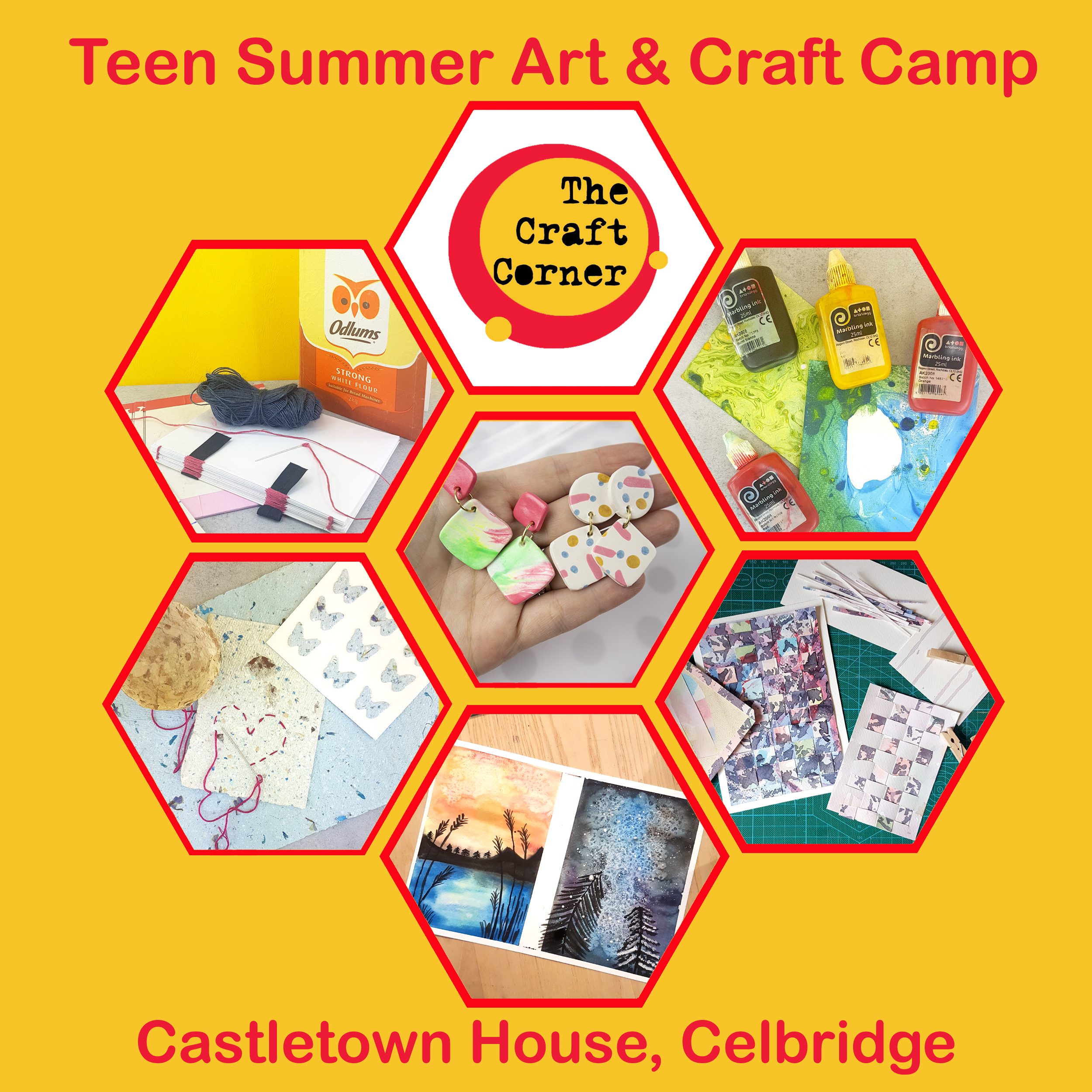 teen camp for age 12 to 16 in celbridge this August