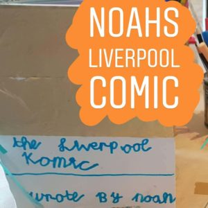 liverpool comic book notebook