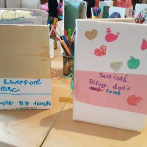 make your own diary, creative ways to journal with children
