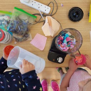 learn to make your own paper with the craft corner