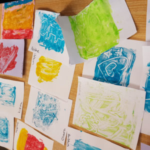 learn to print with the craft corner
