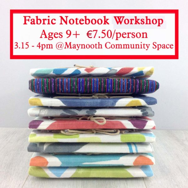 make your own fabric covered notebook with the craft corner copy