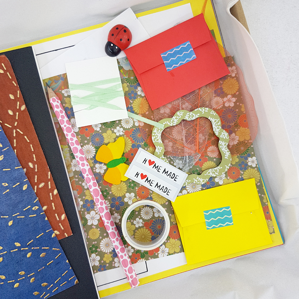a selection of arts and craft materials to help you with your next project