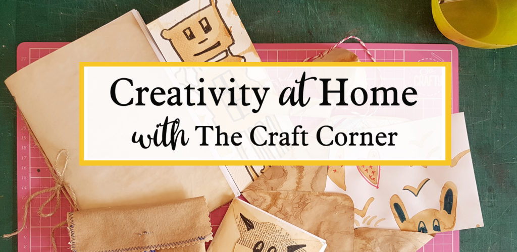 creativity at home. Online arts and craft tutorials