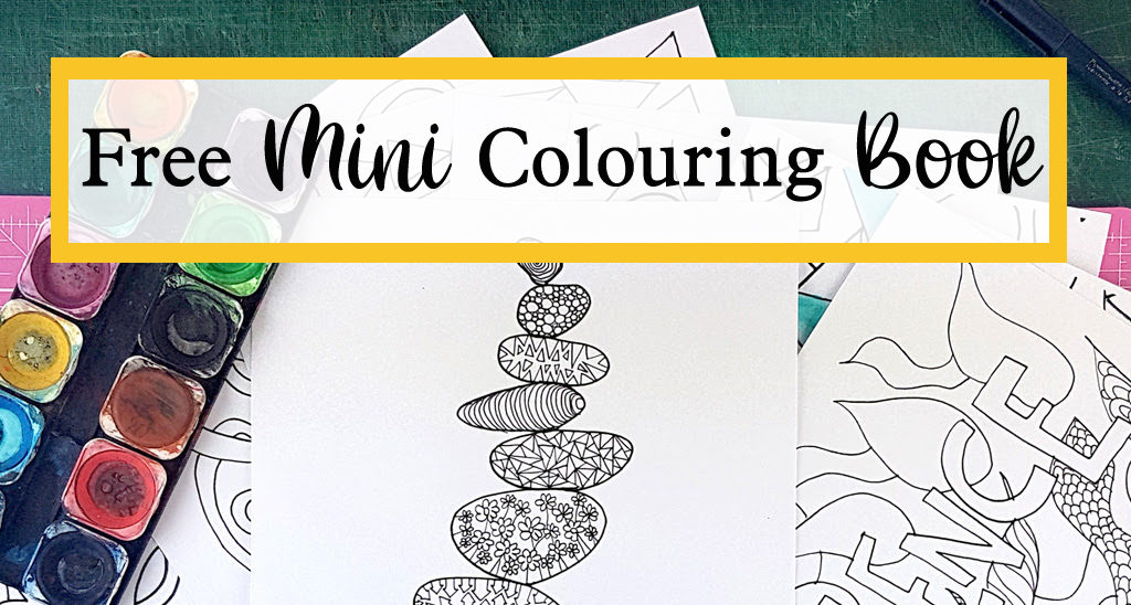 Free colouring pages from The Craft Corner