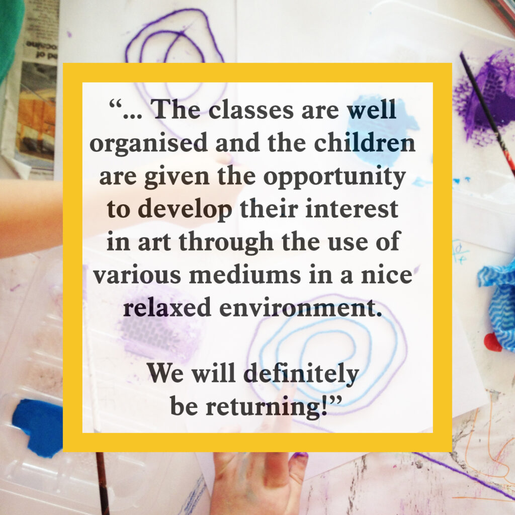 the classes are well organised and the children are given the opportunity to develop their interest