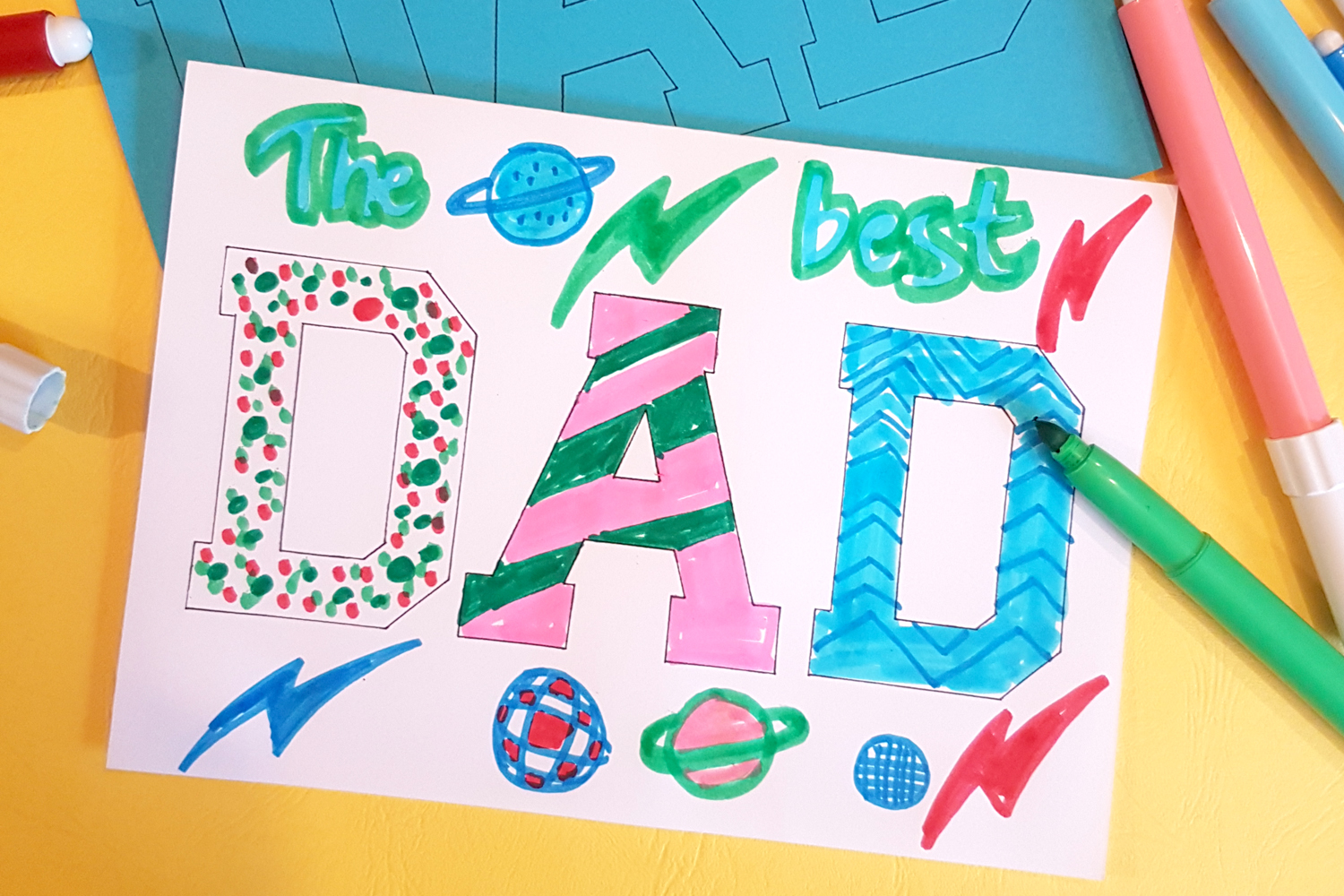 diy father's day cards made by kids