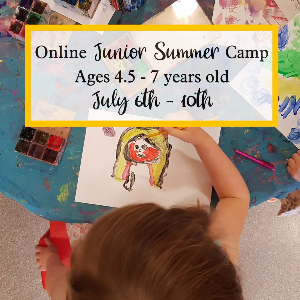 online junior summer camp july 6th to 10th