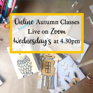 online autumn zoom classes starting on 16th September