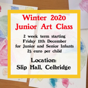 Junior Art Classes in Celbridge on Fridays