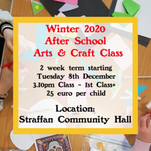 Winter Art Classes Straffan 1st to 6th Class