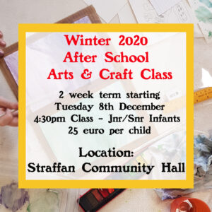 Junior Art Classes Straffan Winter 2020
