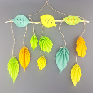 autumn leaves wall hanging gratitude leaves