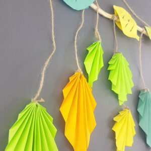 gratitude leaf wall hanging