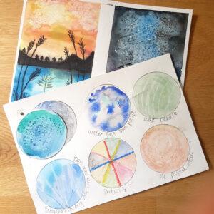 watercolour skills class 2 part class