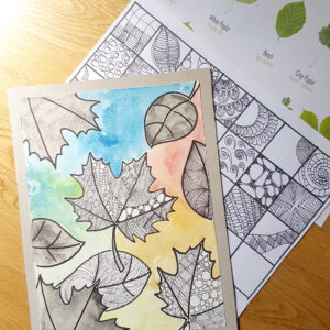 zentangles and pattern class