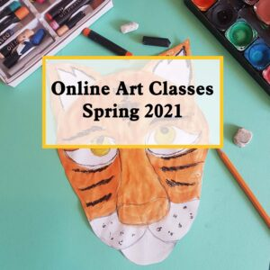 online art classes spring term 2021