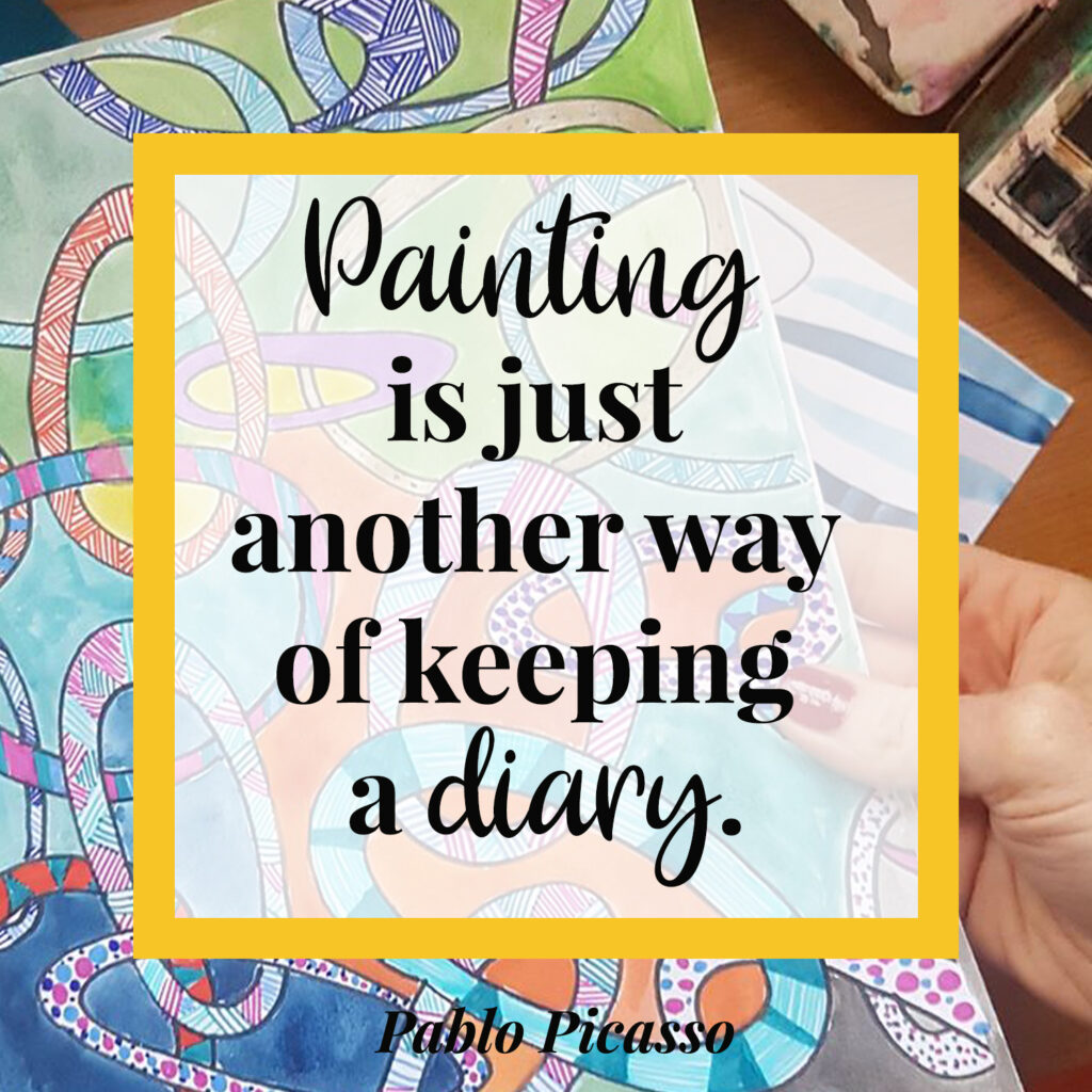Painting is just another way of keeping a diary - pablo picasso