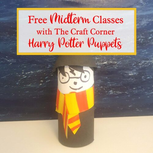 free harry potter puppets wth the craft corner