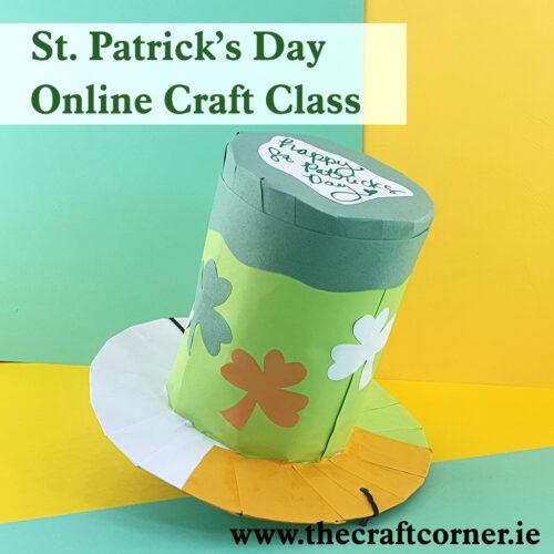 st patricks day craft class with the craft corner