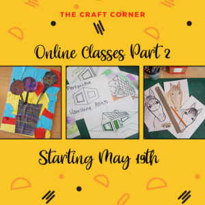 Online arts and craft classes with the craft corner s and craft classes with the craft corner