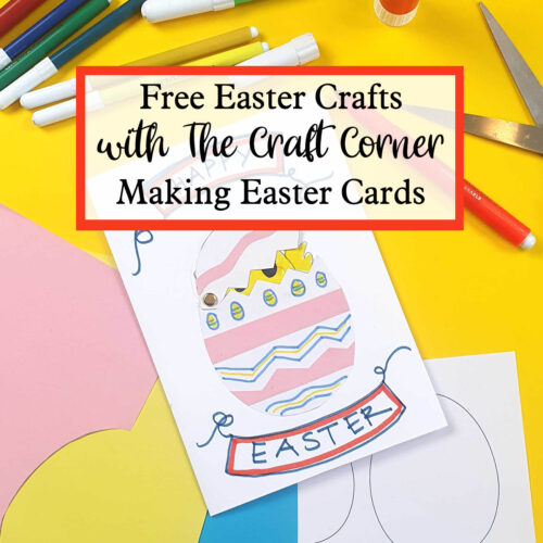 free easter crafts with the craft corner