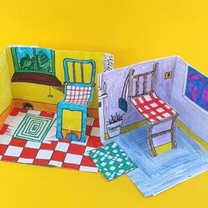 make your own paper dollshouse 5
