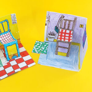 paper dollshouse easter camp class with the craft corner 1