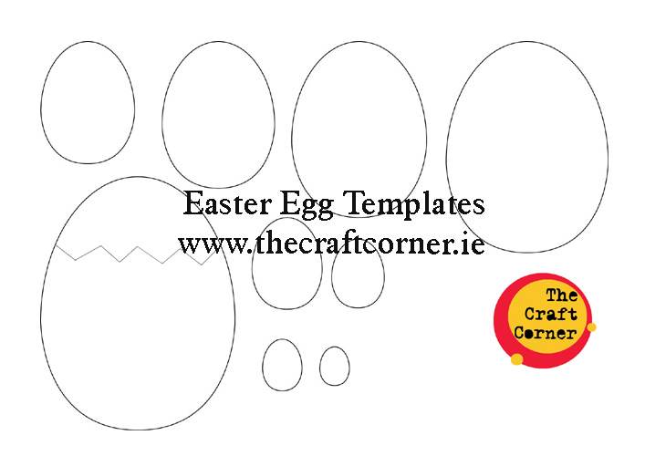 sample easter egg templates