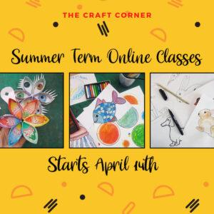 summer term online art classes