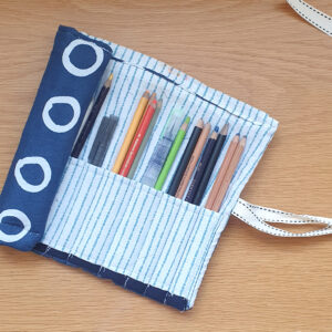 fabric roll organiser online sewing class project