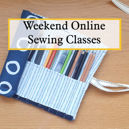 weekend online sewing workshops with the craft corner