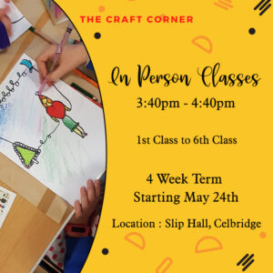 all ages art and craft classes with the craft corner