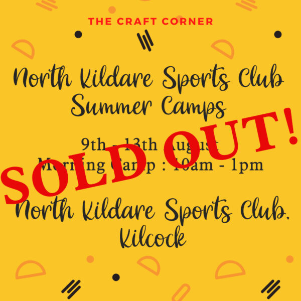 north kildare summer art camp sold out