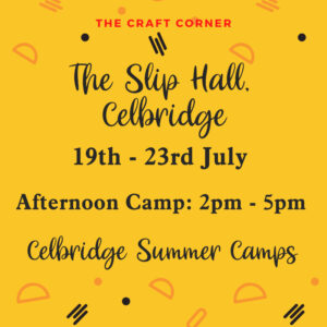 Castletown summer camps with the craft corner