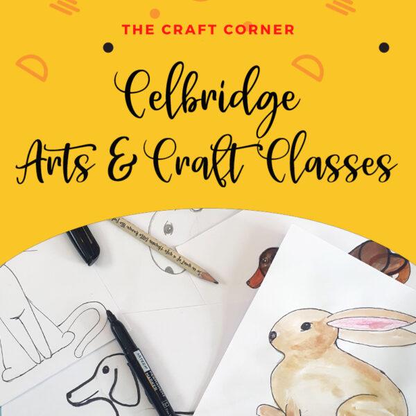 celbridge in person arts and craft classes