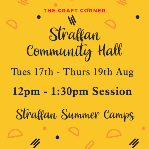 Straffan 12pm 3 day summer camps