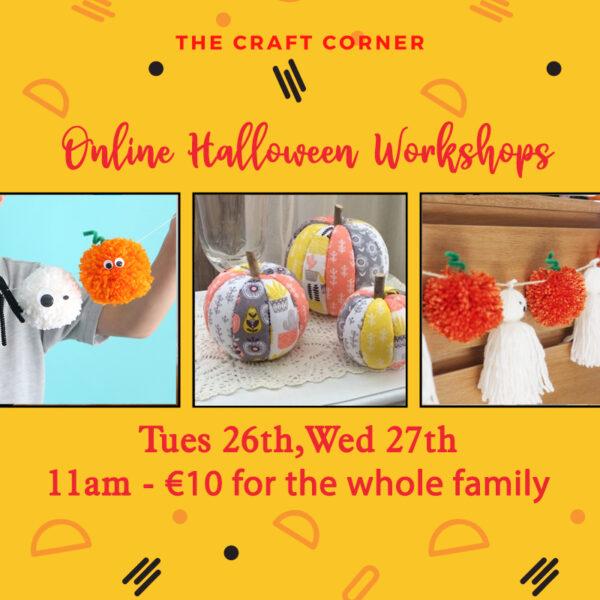 online halloween workshops